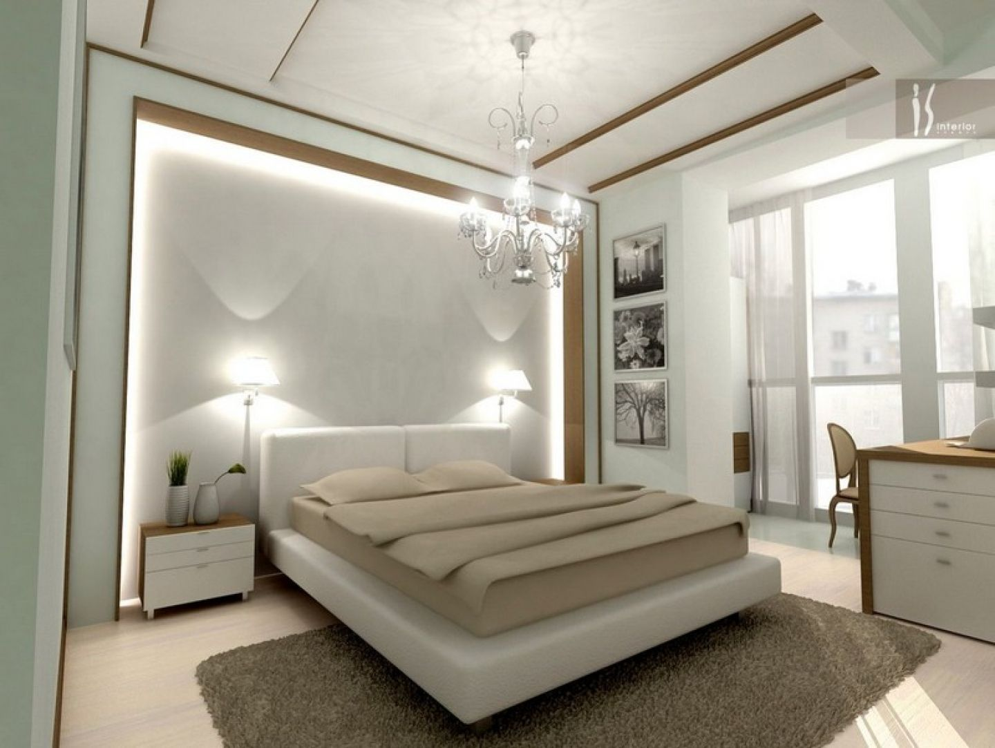 Romantic And Elegant Bedroom Design Ideas for Couple