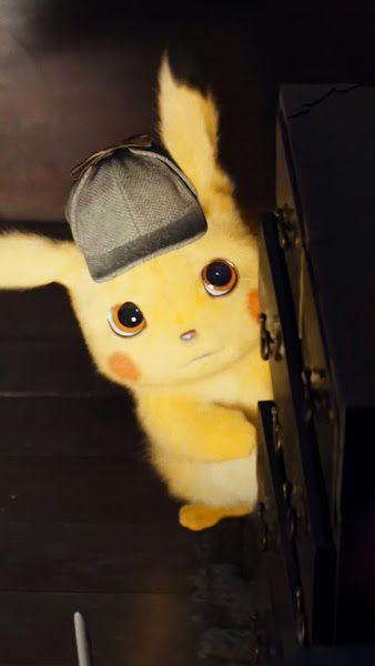 Detective Pikachu 4k 3840x2160 Wallpaper Pikachu Cute Pikachu Cute Pokemon Wallpaper