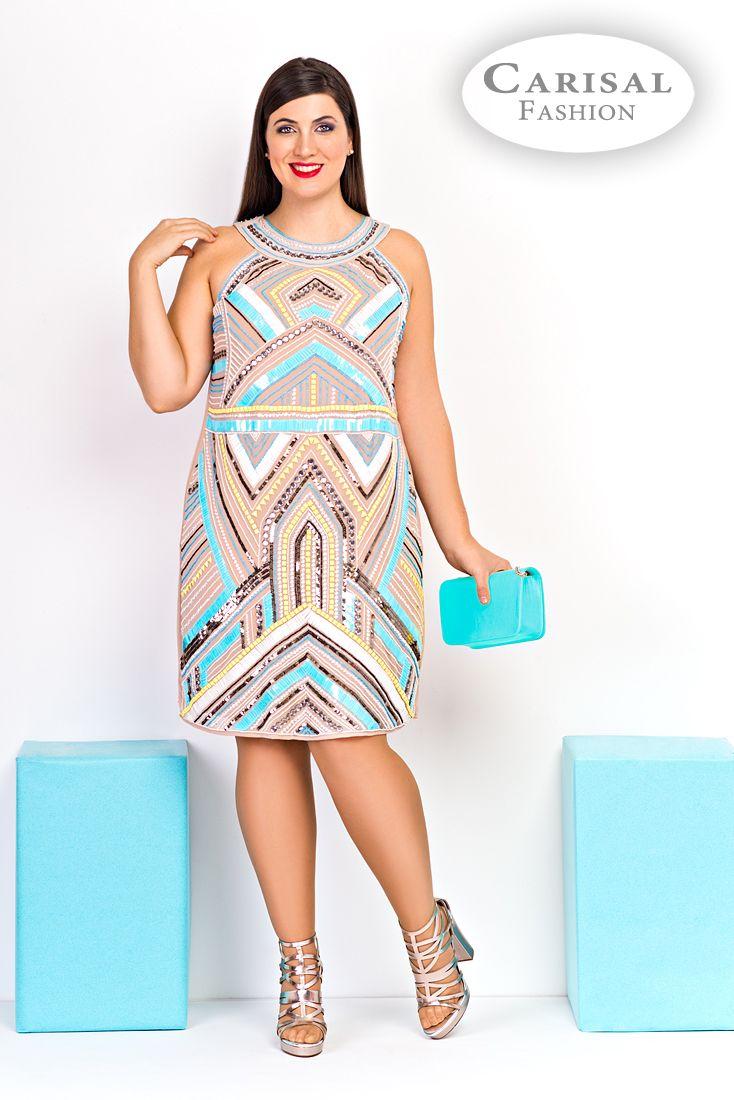 Comprar vestido fiesta talla grande