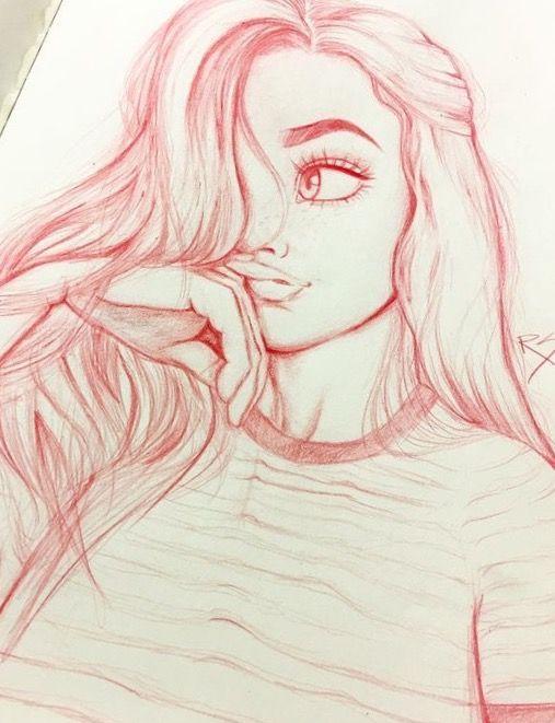 Beautiful Cute Drawings : beautiful, drawings, Beautiful, Stare, Drawings,, Drawings