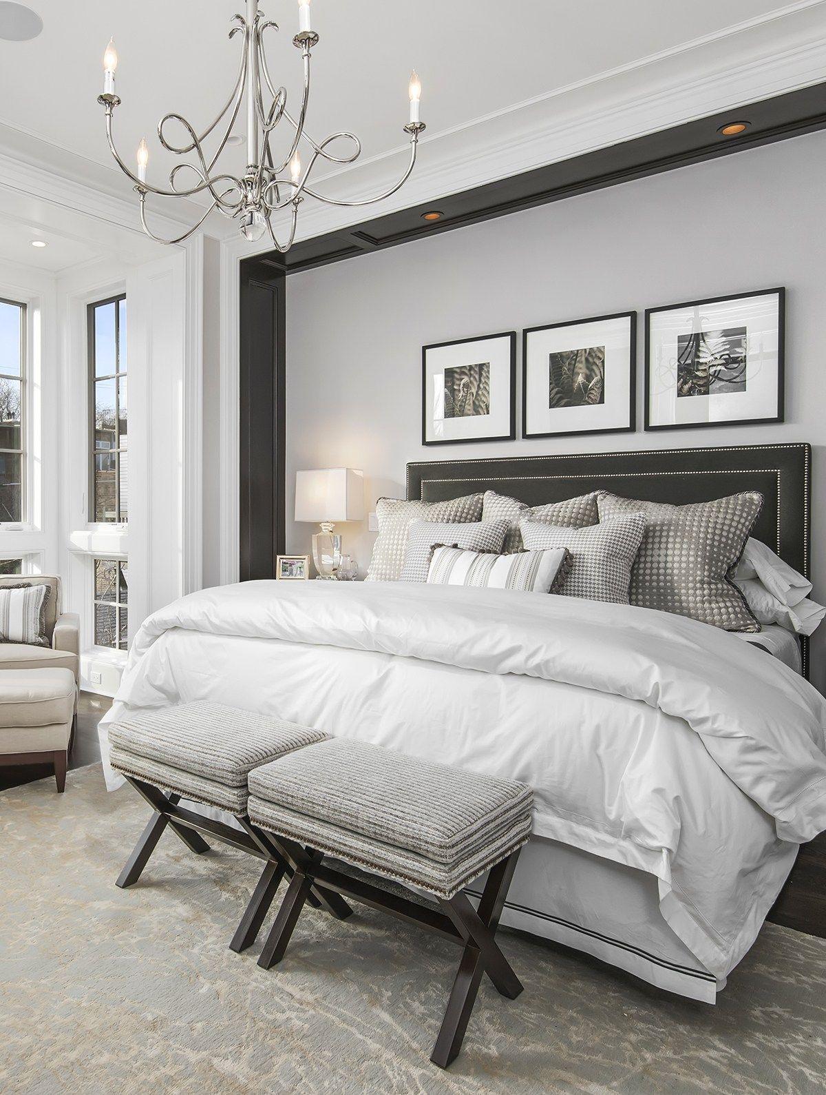 Sophisticated Bedroom Design | Elegant Master Bedroom