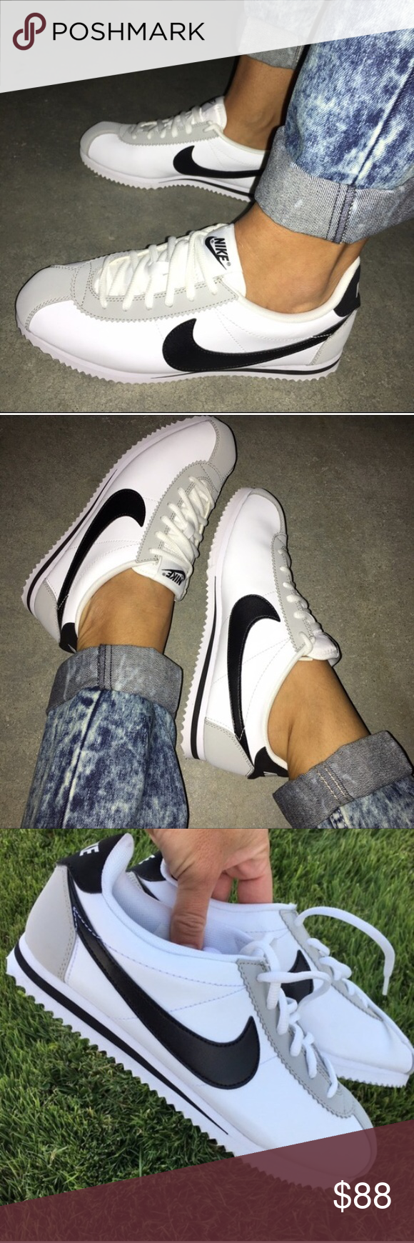 competitive price 37921 daecf Nike Cortez!! Lightly worn 1x. Just dirt on the bottom and ...