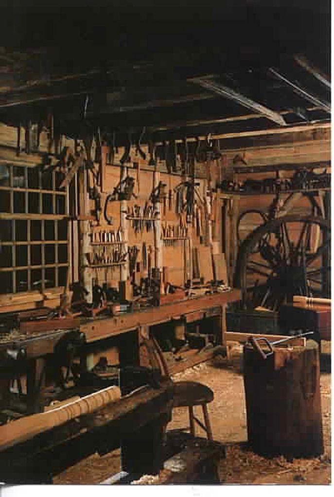Garage Workshop Organization Wood Shops
