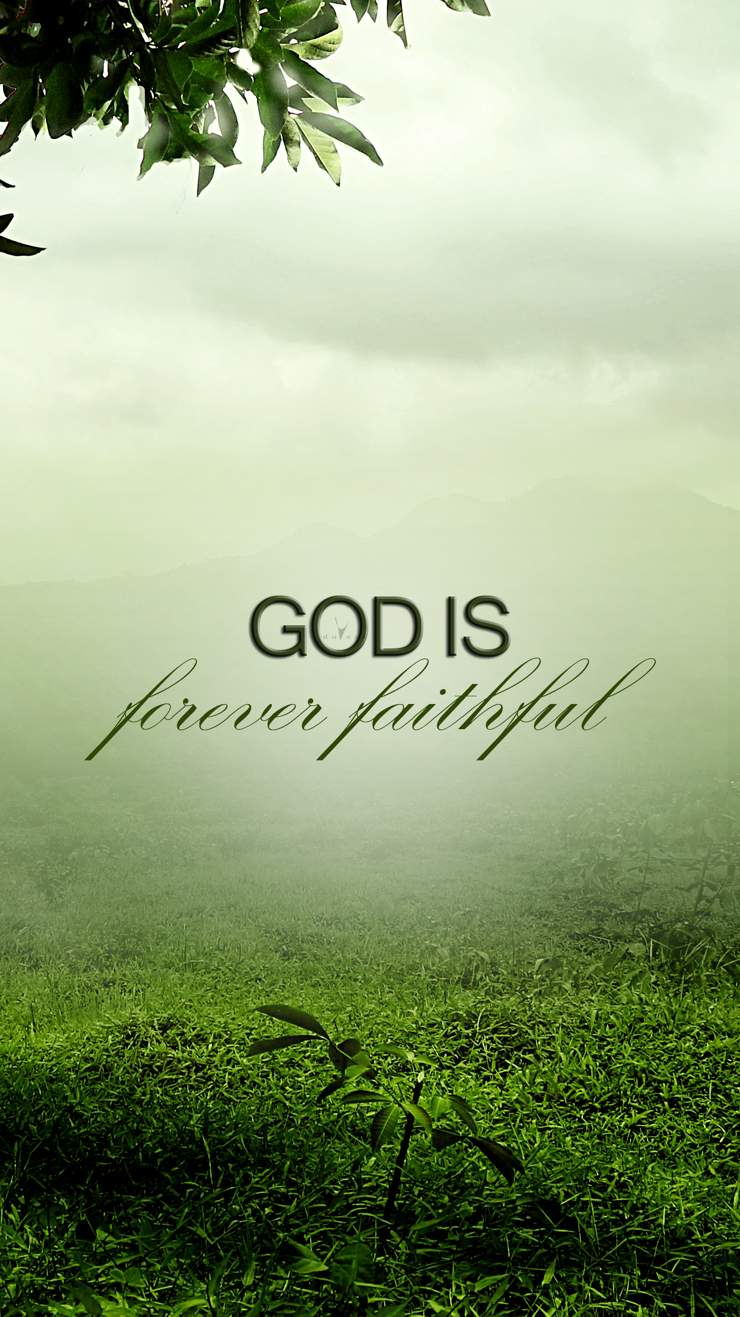 God is forever faithful Christian wallpaper, Christian