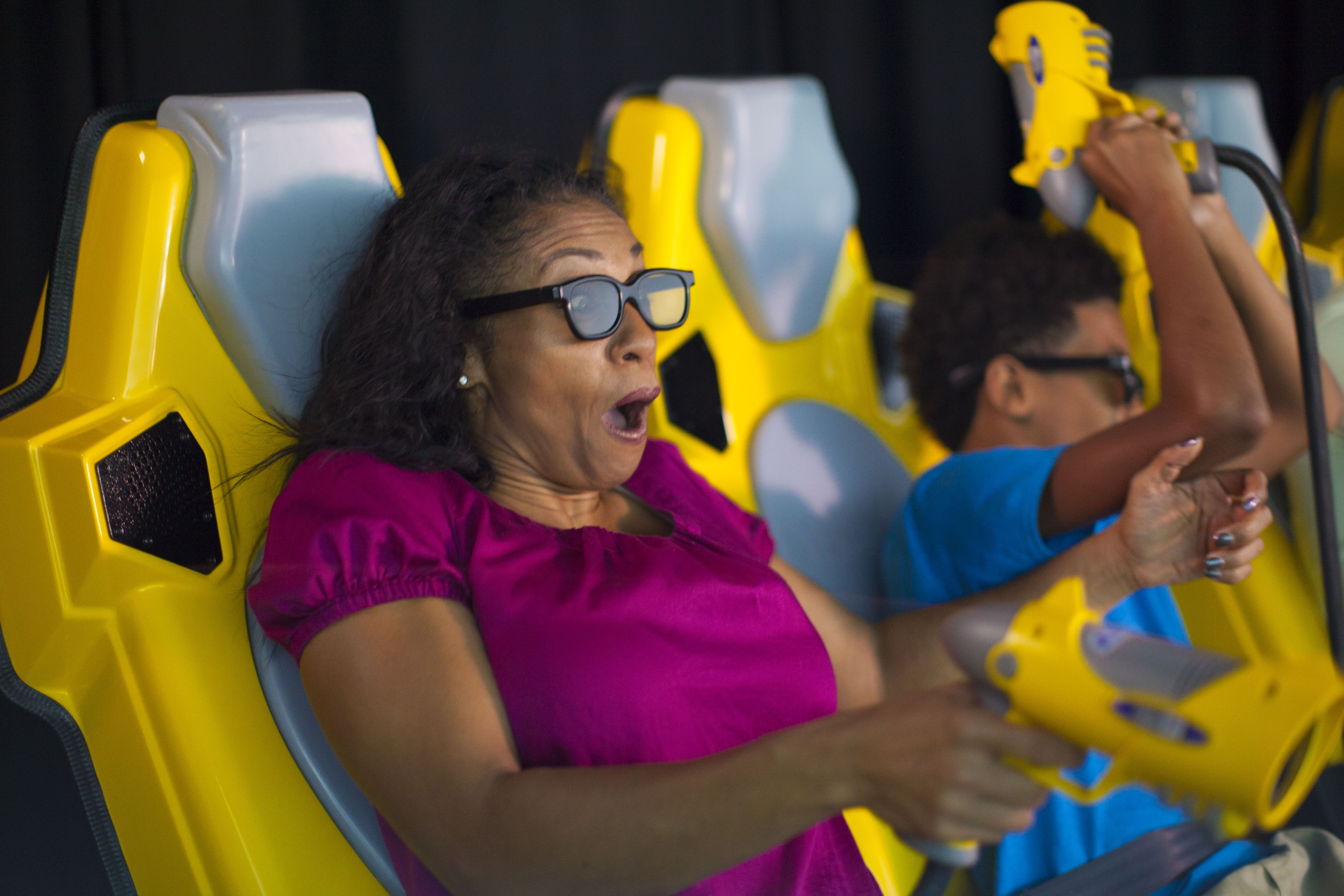 Our 7D Dark Ride Adventure makes you feel like you're right in the