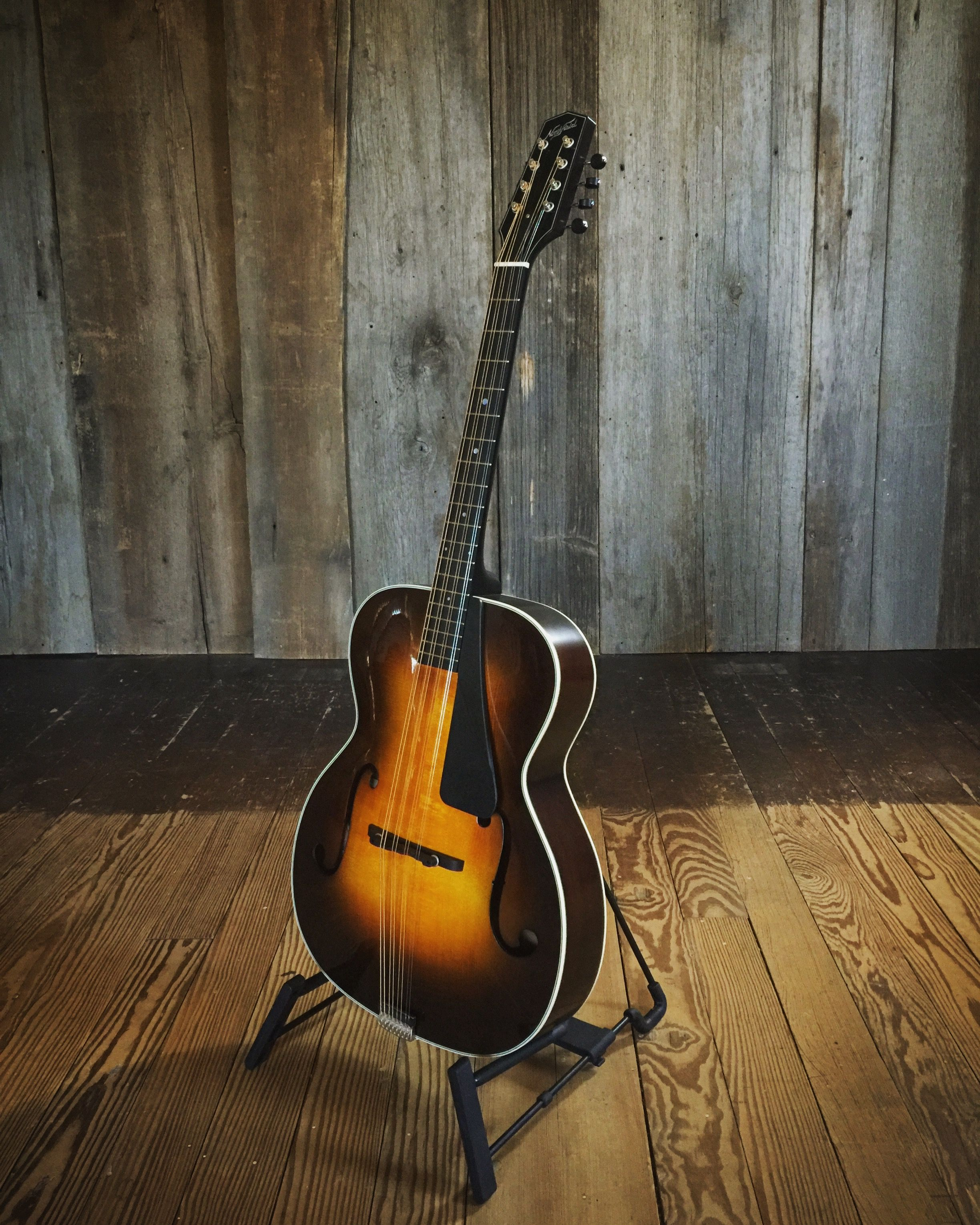 Northfield Workshop ATO-2 Maple Archtop Octave Mandolin with