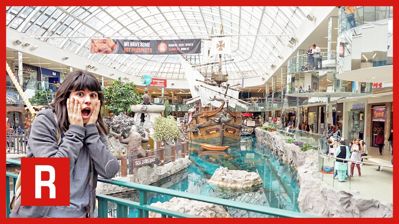 I D Like You To See The Biggest Mall In North America And It S