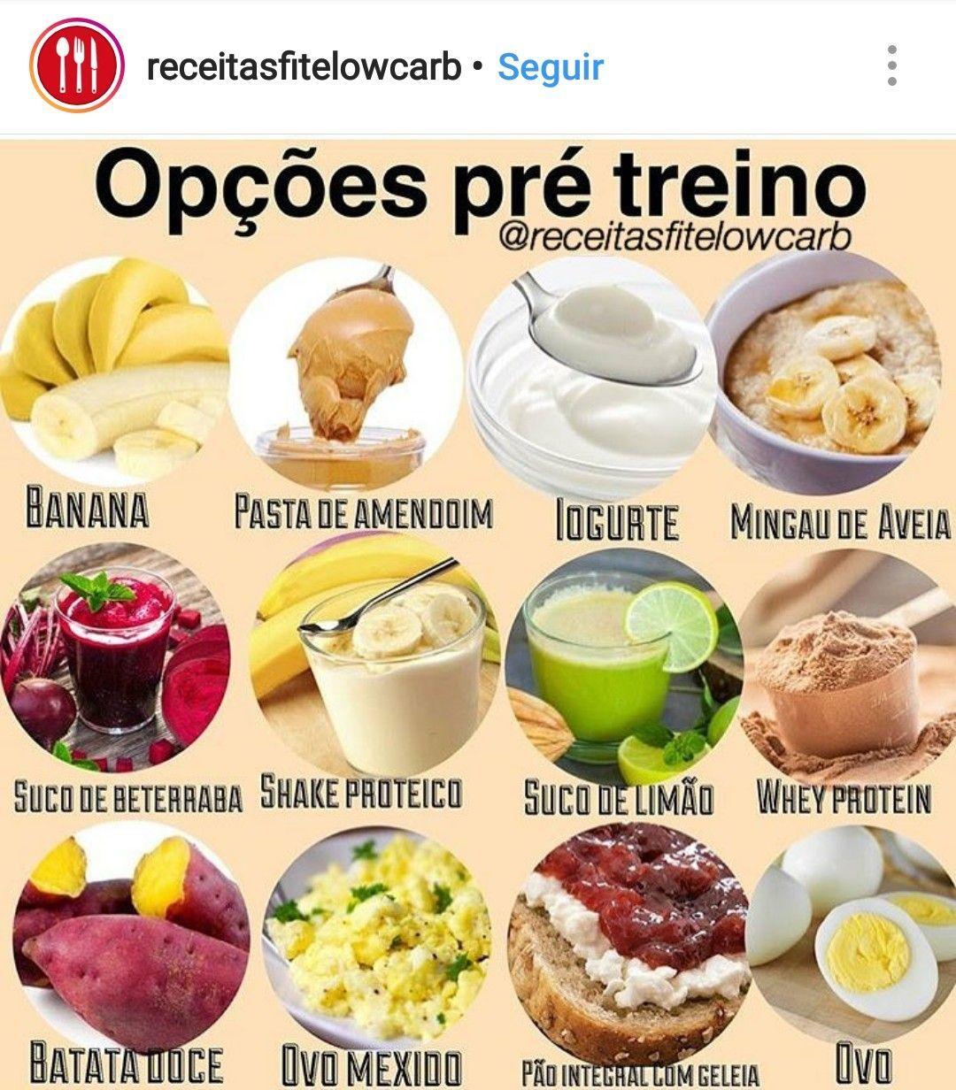 Alimentação: opções de pré treino. O que comer antes do ...