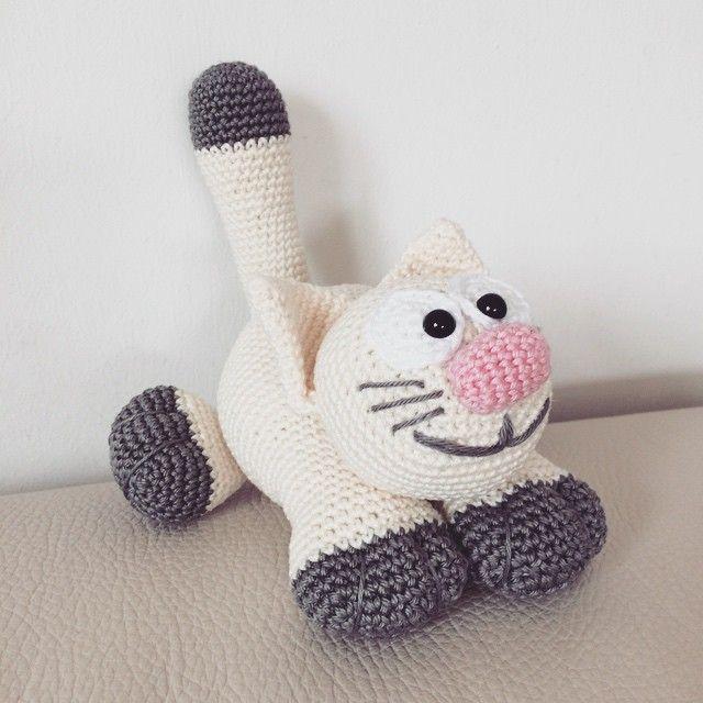 Mulpix Die Kleine Katze Nachweinet Anleitung Von Amigurumiprinzessin