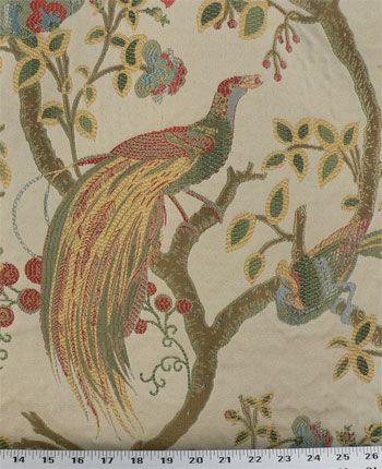 Phoenix Gold Fabric #birdfabric