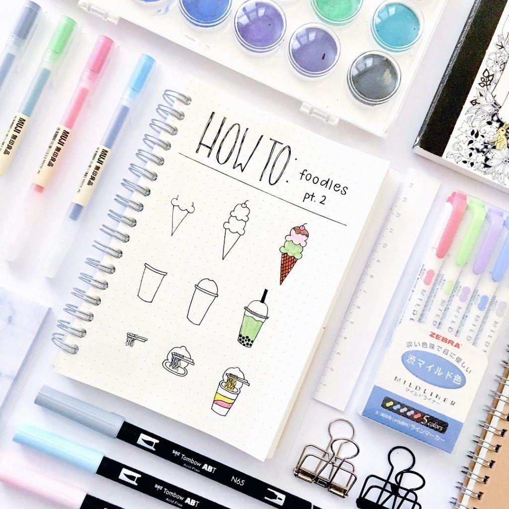 Bullet Journal Doodles - 30 Easy Tutorials