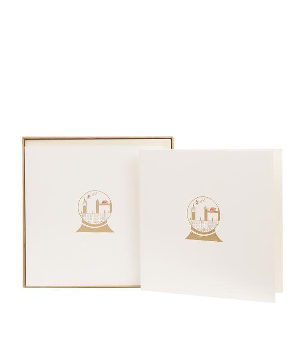 Julie Bell London Snow Globe Christmas Cards (Set Of 10