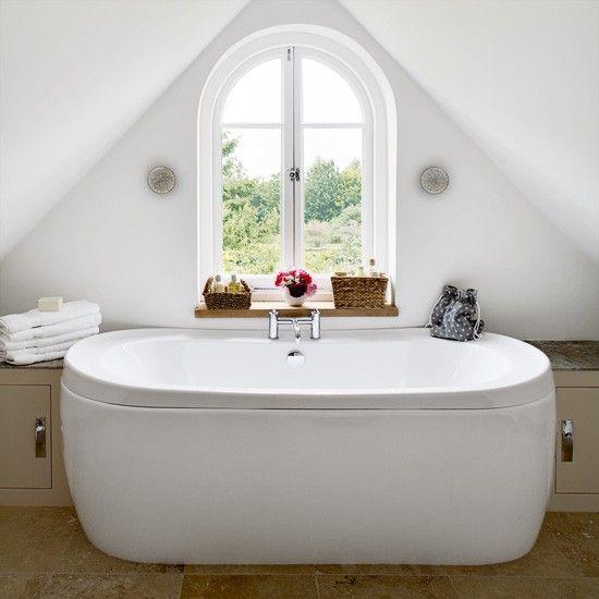 Dachgeschoss Bad Wohnideen Badezimmer Living Ideas Bathroom