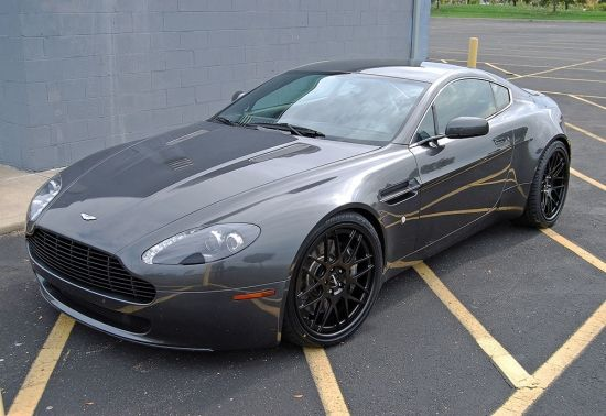 Troy's Aston Martin Vantage looks like it belongs on these ...