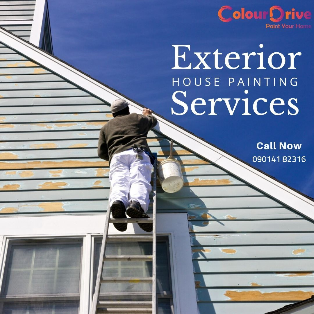 Exterior Wall Colour Painting Services House Painting Services House Painting