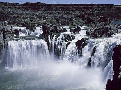 shoshone falls near twin falls idaho there 39 s a great. Black Bedroom Furniture Sets. Home Design Ideas