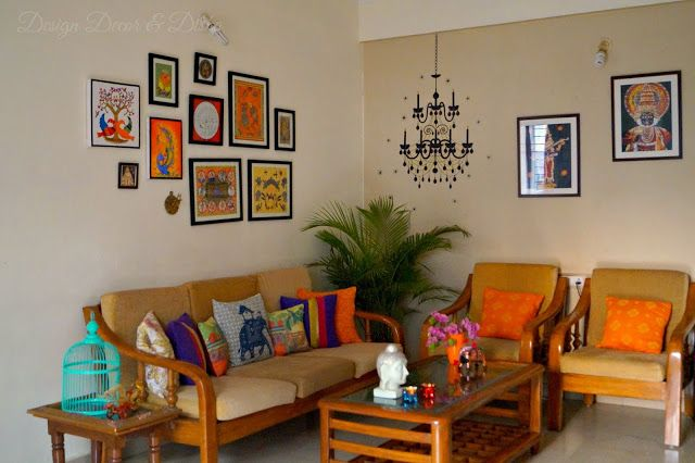 Design decor disha indian art gallery wall reveal wall - Wall pictures for living room india ...