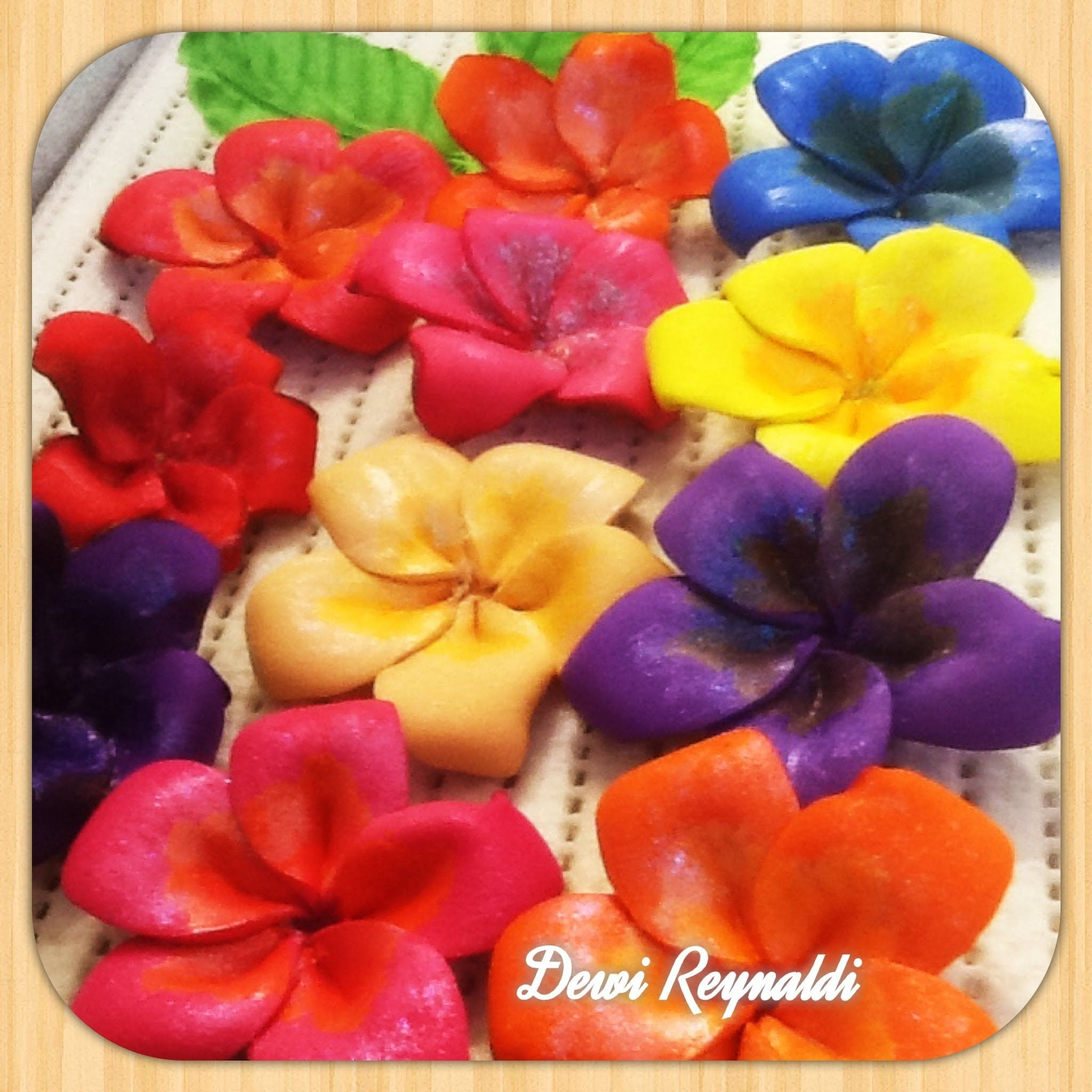 Diy How To Make Plumeria Frangipani Craft Foam Flower  Hair Bow, Brooch