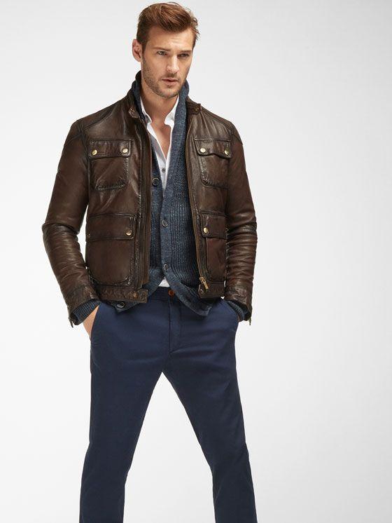 cb7b127aa210 Prendas de piel para hombre | Massimo Dutti | fashion style | Ropa ...