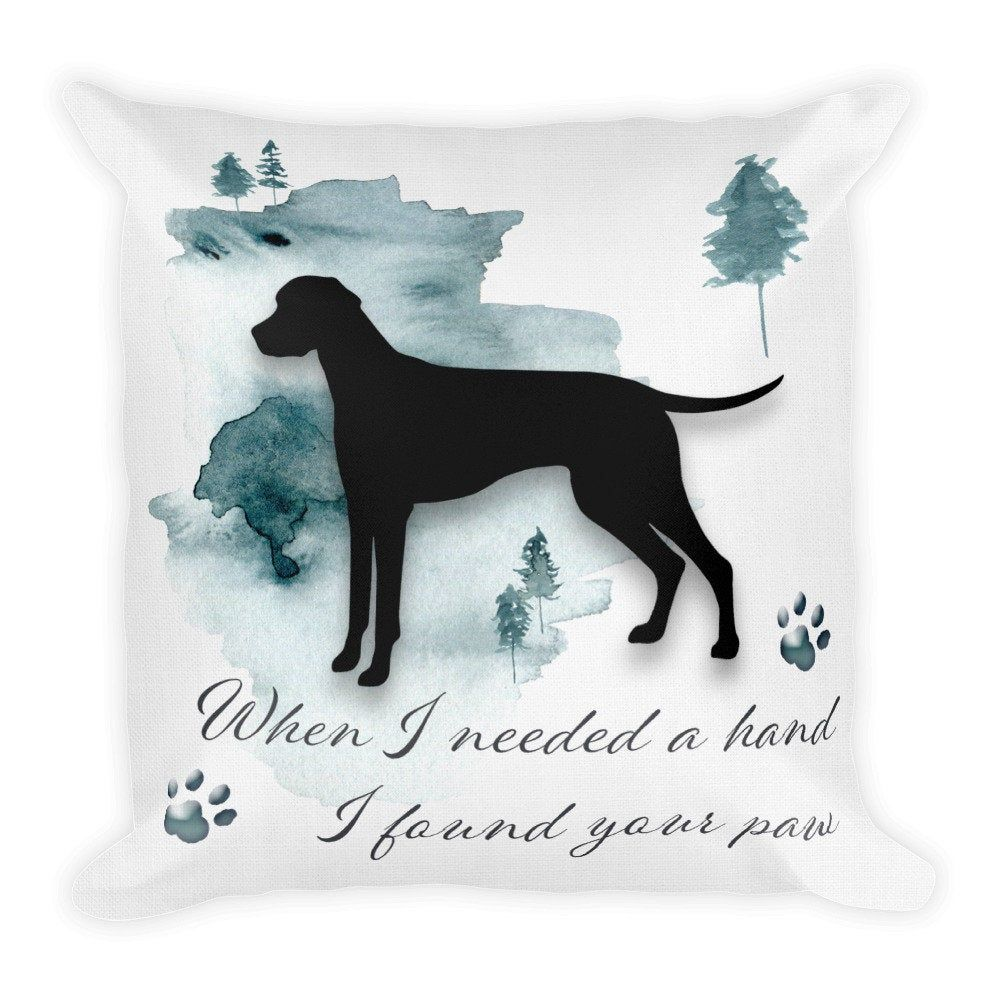 Dalmatian, dog remembrance gift, Custom Dog Pillow, Personalized Pet Pillow, Home Decor, Gift For Her