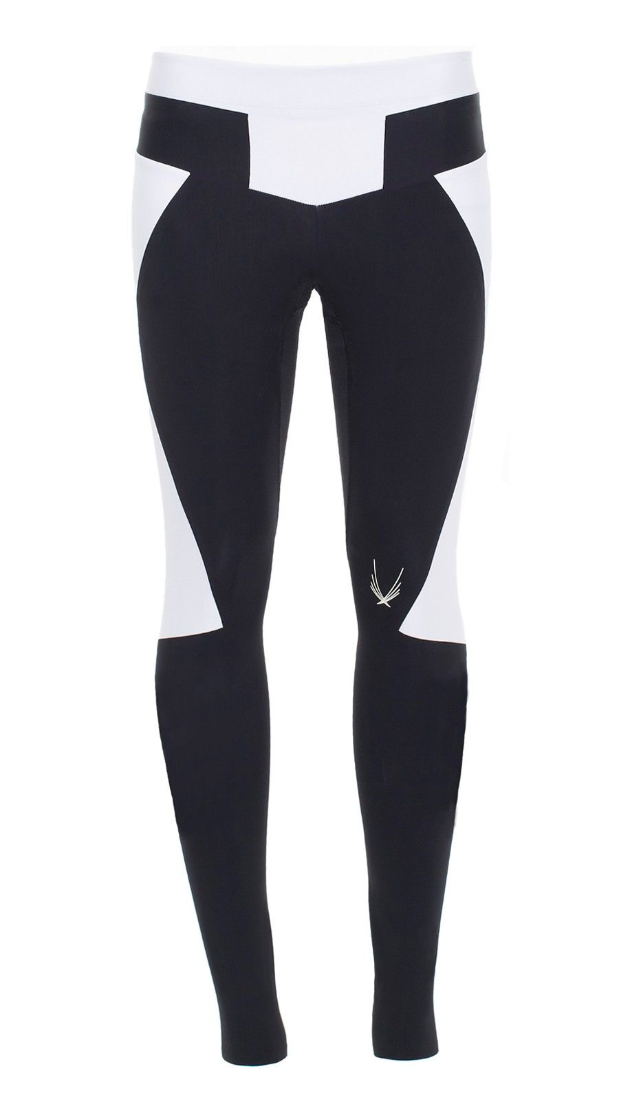 Lucas Hugh, Octane Leggings, Black These Lucas Hugh leggings are baseball inspired with strong, angular lines and block colours. Full-length, body-sculpting Octane leggings are the fashion forward choice for a strong workout look. The ultra-flattering design includes a firmly supportive, faced waistband, dynamic monochrome panelling and a zipped hem.