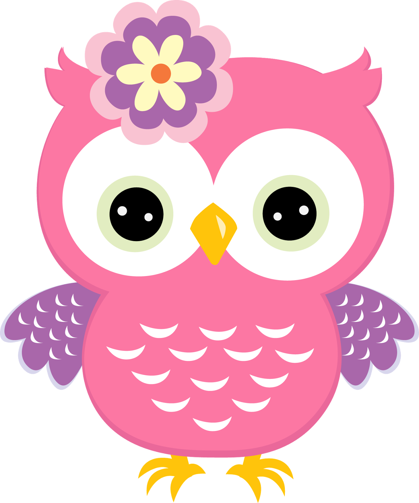 Clipart De Búhos De Colores Buhos Pinterest Owl Baby Owls Y