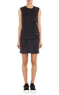 PACO RABANNE Technical-Piqué Shift Dress. #pacorabanne #cloth #dress