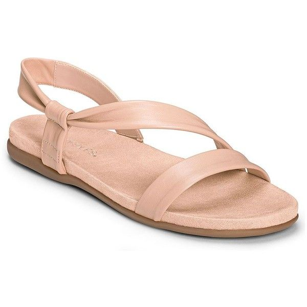 AEROSOLES Rediscover Leather Sandals $59