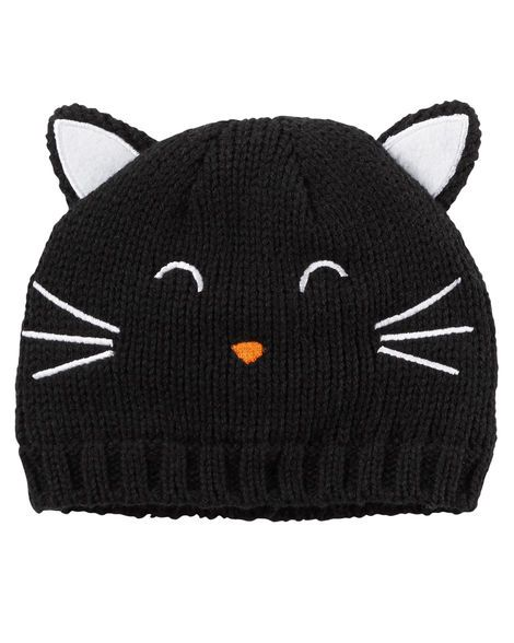 Knit Cat Hat from Carters.com. Shop clothing   accessories from a trusted  name in kids 86cd1f051ff9