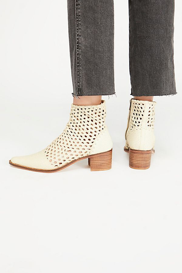 In The Loop Woven Boot Boots, Leather ankle boots, Fashion