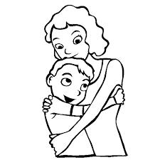 Resultado De Imagen Para Dia Del Abrazo En Familia Mothers Day Coloring Pages Mother S Day Colors Mothers Day Images