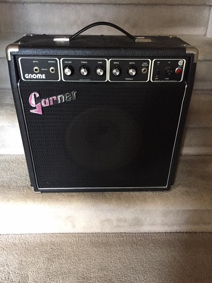 Garnet Gnome From The Early 70s Vintage Guitar Amps Vintage Guitars Guitar Amp