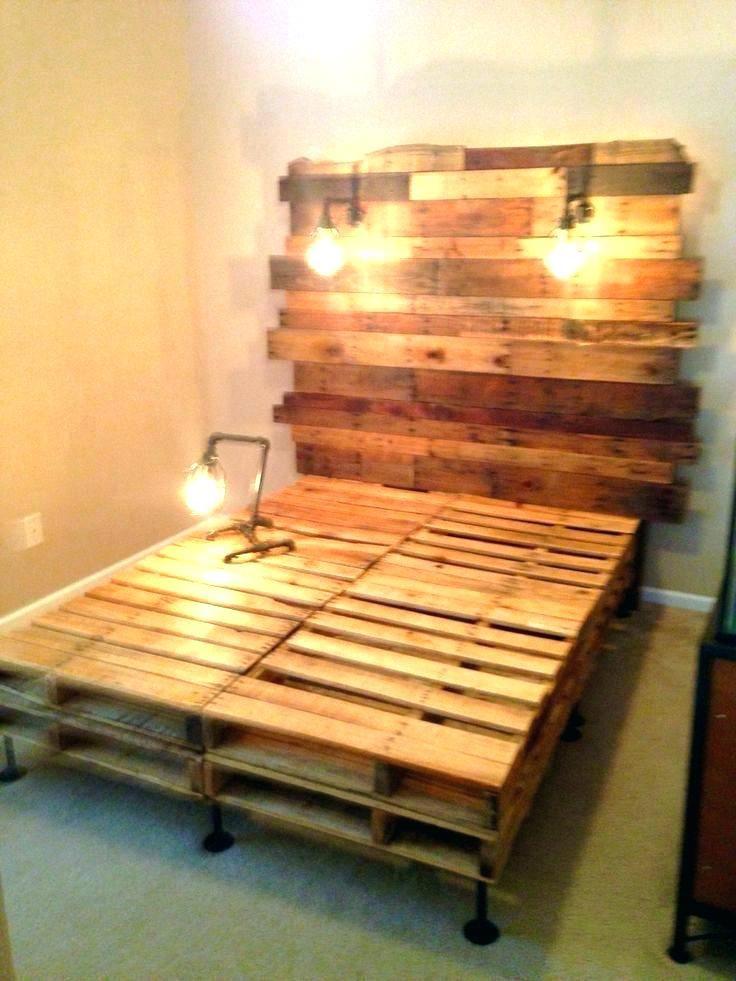 King Size Pallet Bed King Size Pallet Bed Pallet Bed Frame