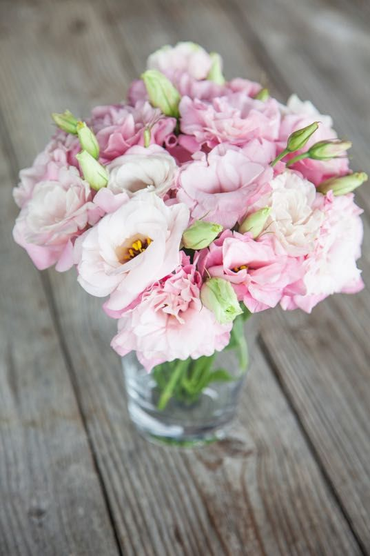 Pink lisianthus getting married in march see our seasonal flowers see our seasonal flowers board for a full list of flowers that are available for florists to buy in march for a spring wedding mightylinksfo