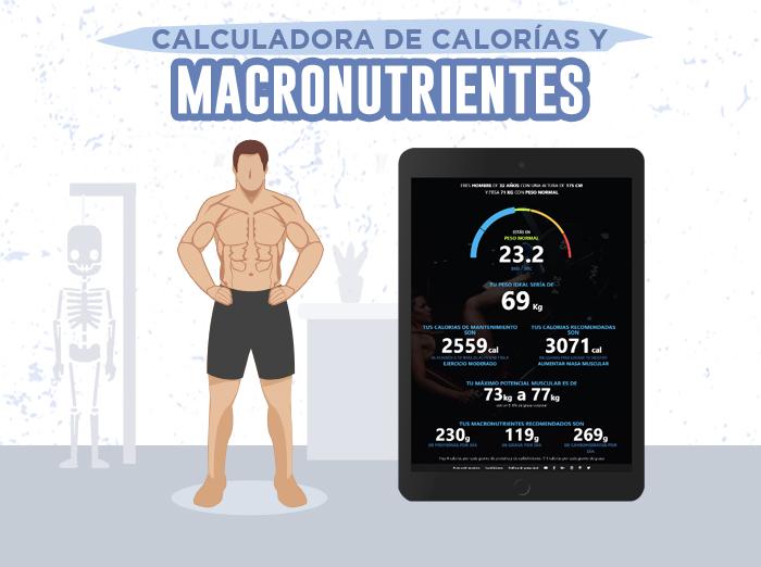 Te presentamos nuestra calculadora de calorías y..
