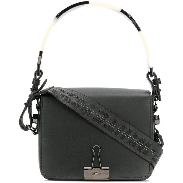 Off White Binder Clip Bag 1 105 Via Polyvore Featuring Bags Handbags