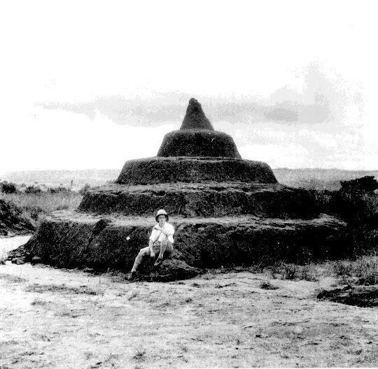 Jones at the Nsude pyramids