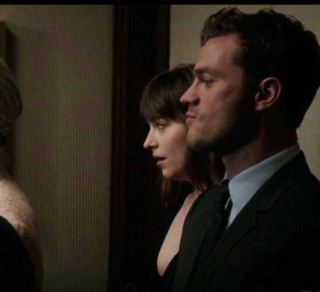 Fifty Shades Darker - Elevator Scene Fifty Shades Cast, Fifty Shades  Trilogy, Fifty Shades