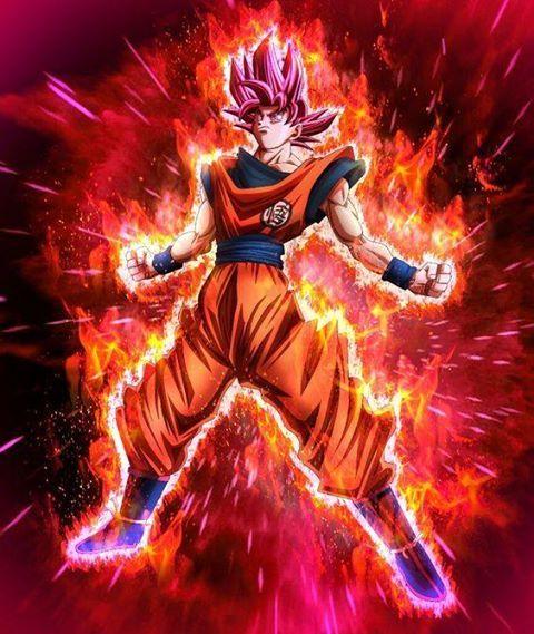 Saiyan god goku maximum power dragon ball universe - Foto goku super saiyan god ...