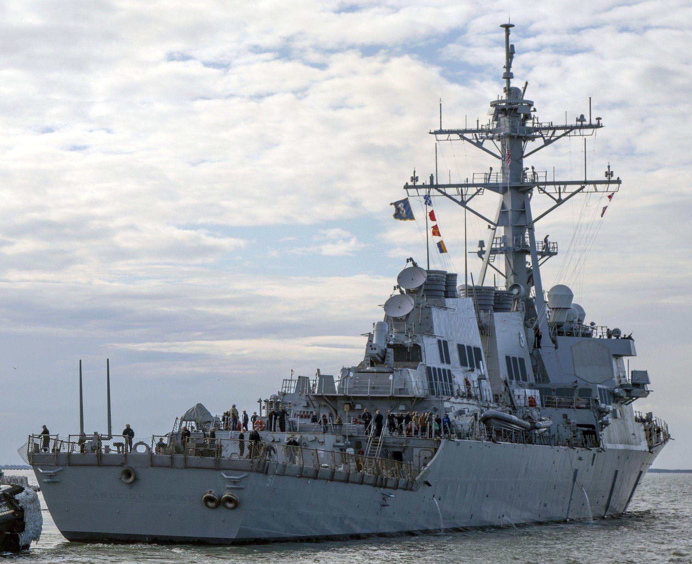 USS Arleigh Burke DDG51 Destroyer US Navy in 2020 Burke
