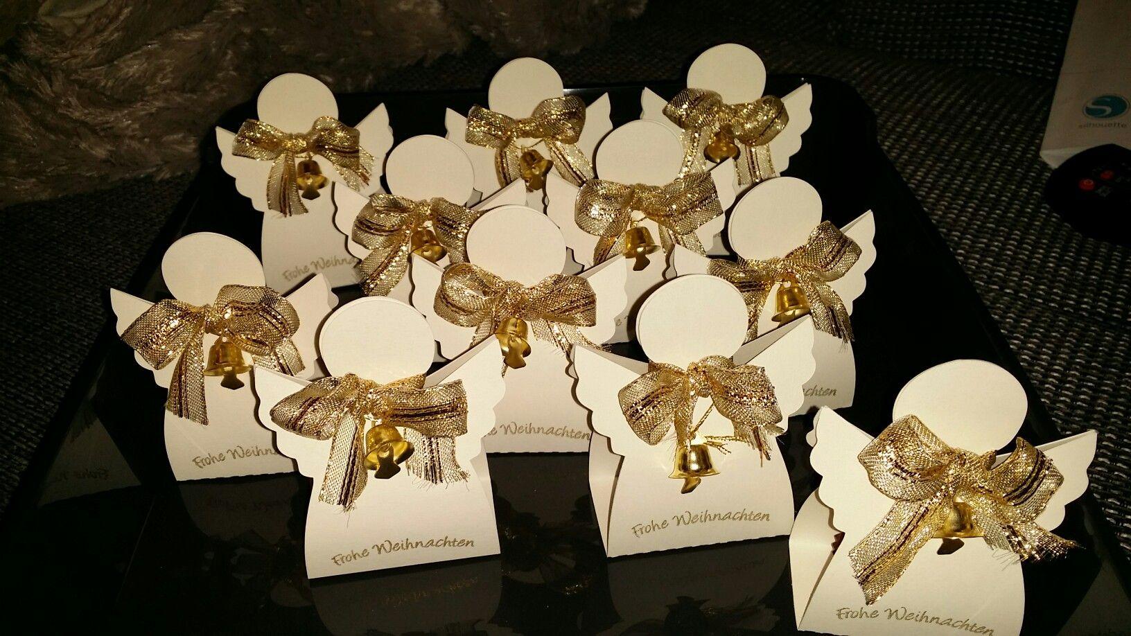 Ferrero Rocher Engel Ca 9 Cm Groß Basteln Weihnachten