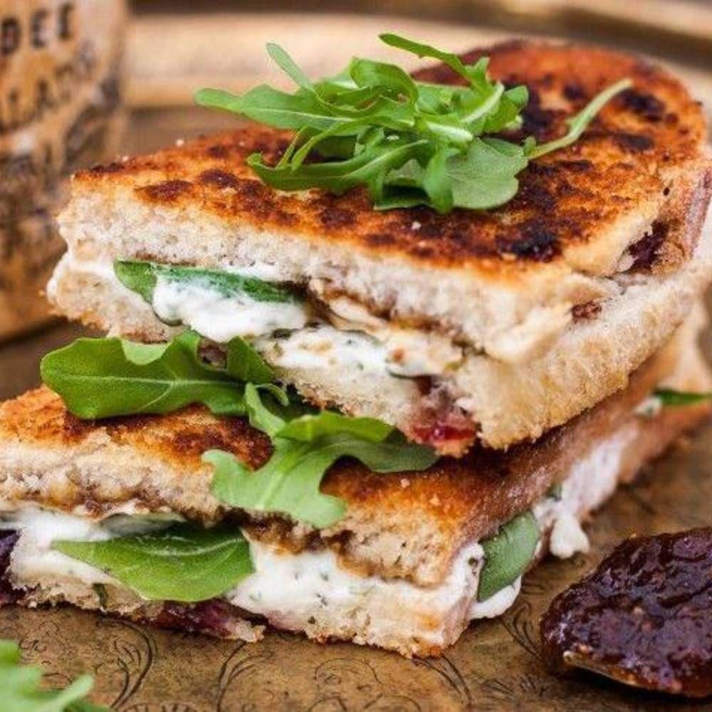 Croque-monsieur végétarien : idées faciles et gourmandes de croque-monsieur végétarien - Elle à Table #croquemonsieur