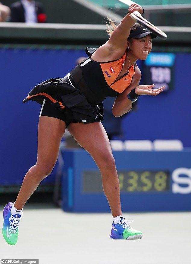 Naomi Osaka Tennis Match Miami Fashion Week Tennis Stars