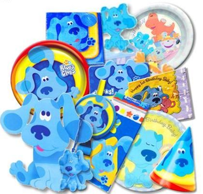 Blues Clues Party Supplies from wwwhardtofindpartysuppliescom