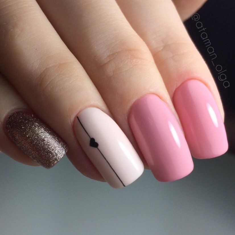 Nail Art #3893 - Best Nail Art Designs Gallery | Nail heart, Nail ...