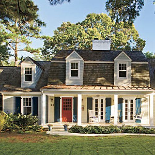 Best Before and After Coastal Cottage Reinvented Coastal cottage