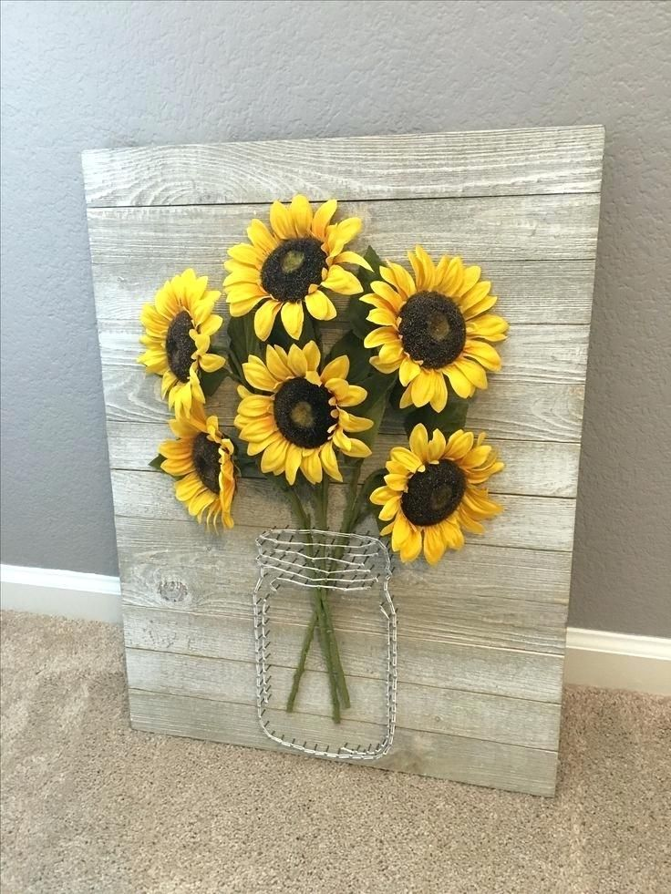 Image Result For Sunflower Themed Bedroom Farmhouse Wall Decor Handmade Home Decor Pallet Signs Rustic