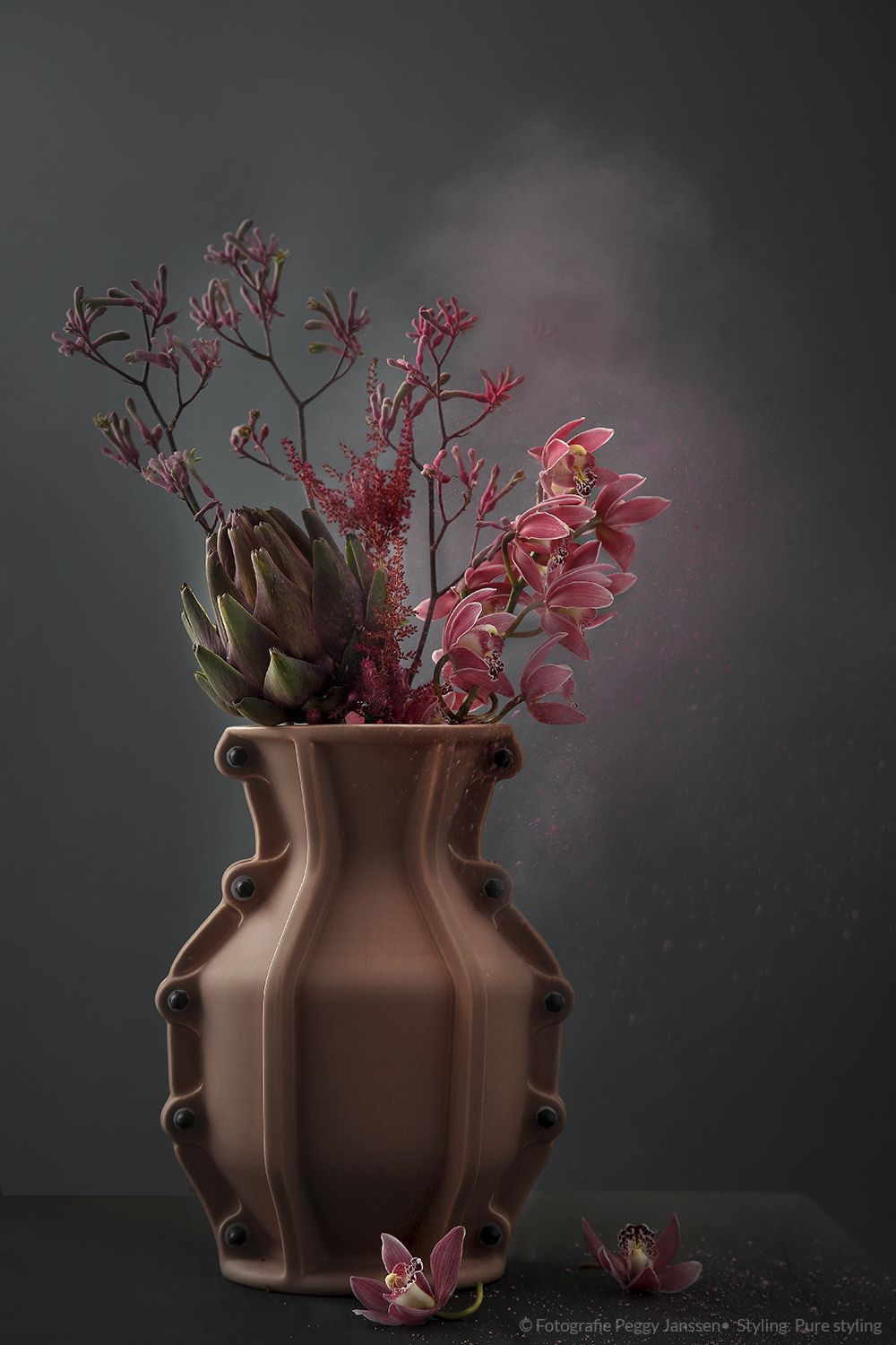 flower shoot PURE styling blog Pure products, Abstract