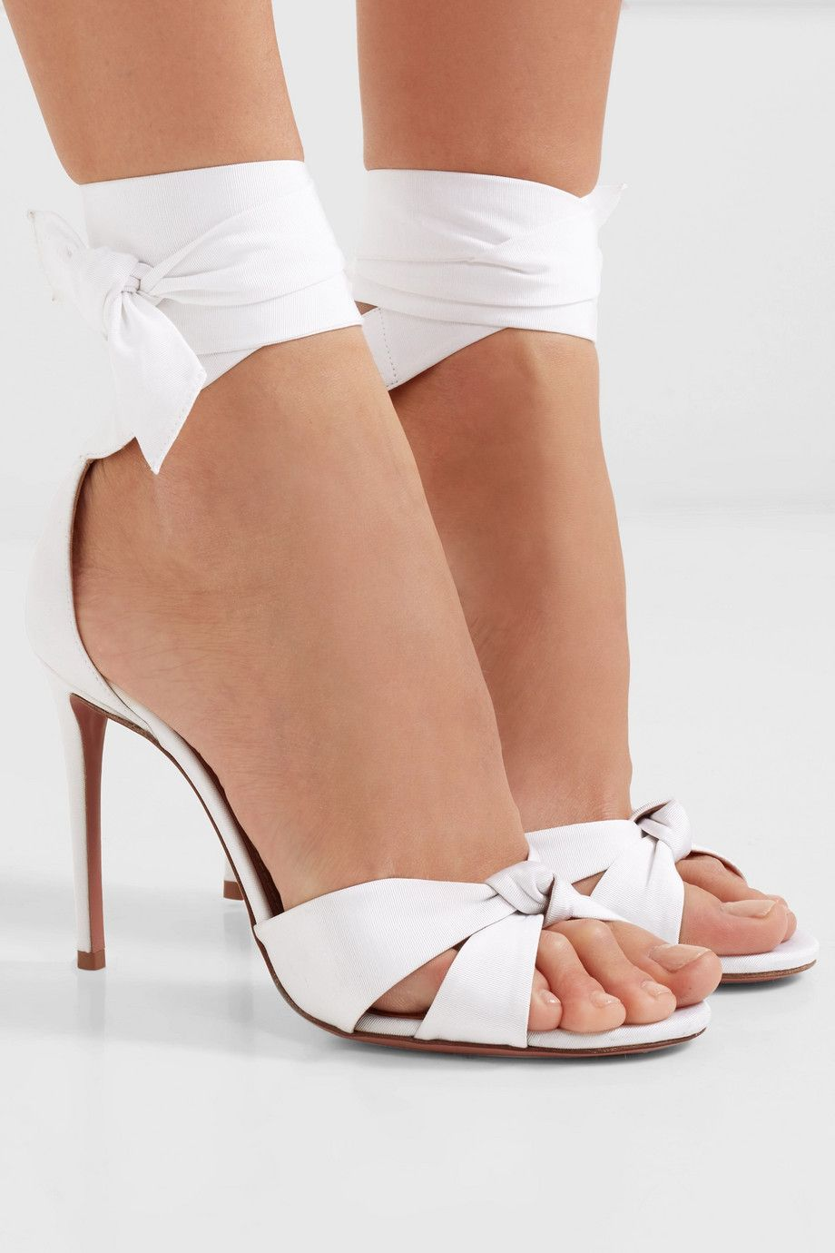 All Tied Up grosgrain sandals