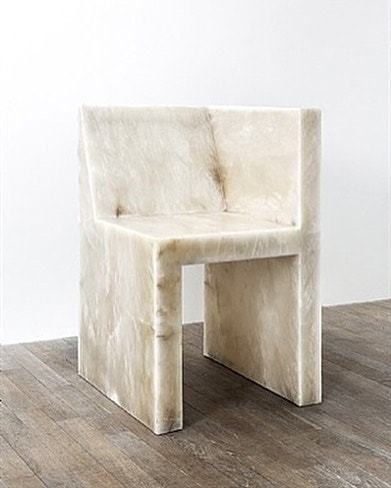 Rick Owens • Half Box, Alabaster (2011) #rickowens #architecture #architecturephotography #interior #interiordesign #craft #art #photography #furniture #furnituredesign #beauty #simplicity #neutrals #inspiration #interiorobjects #objects #decor...